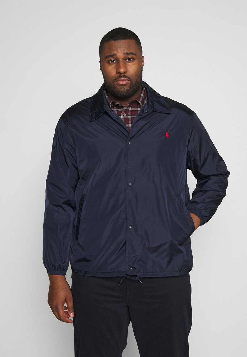 Polo Ralph Lauren Big & Tall - COACHES JACKET - Korte jassen - aviator navy