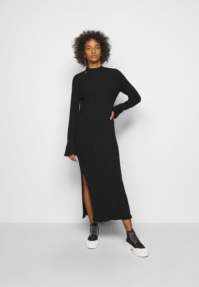HADELAND DRESS - Maxi-jurk - black