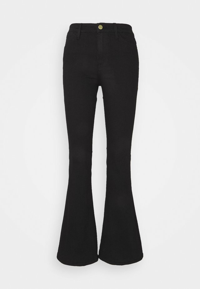 LE PIXIE  - Flared Jeans - film noir