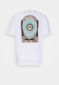 Kaotiko - UNISEX NEW ORDER - Print T-shirt - white - 8