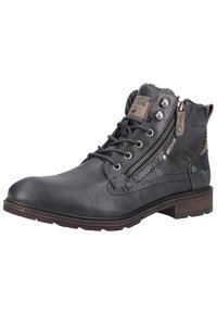 Mustang - Lace-up ankle boots - graphite - 4