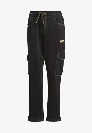 PANTS - Cargo trousers - black