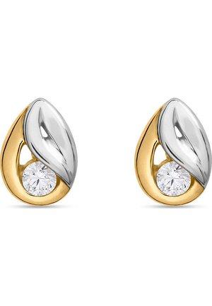 FAVS. DAMEN-OHRSTECKER 585ER GELBGOLD ZIRKON - Earrings - yellow gold