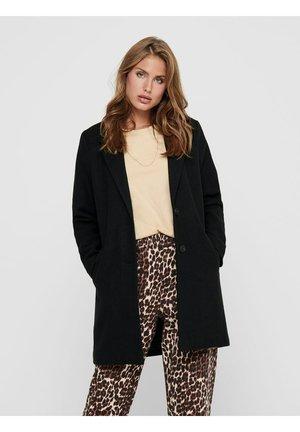 JDYEMMA CHECK - Classic coat - black