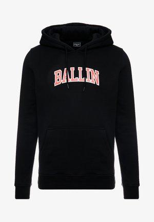 BALLIN STATEMENT HOODY - Hoodie - black
