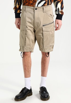 ROVIC ZIP RELAXED - Shorts - dune