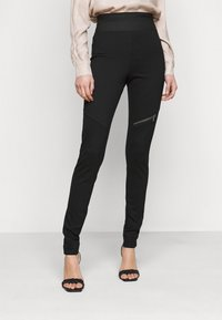 Noisy May Tall - NMJACKS - Leggings - Trousers - black - 0