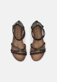 KHARISMA - Sandals - medusa nero - 5