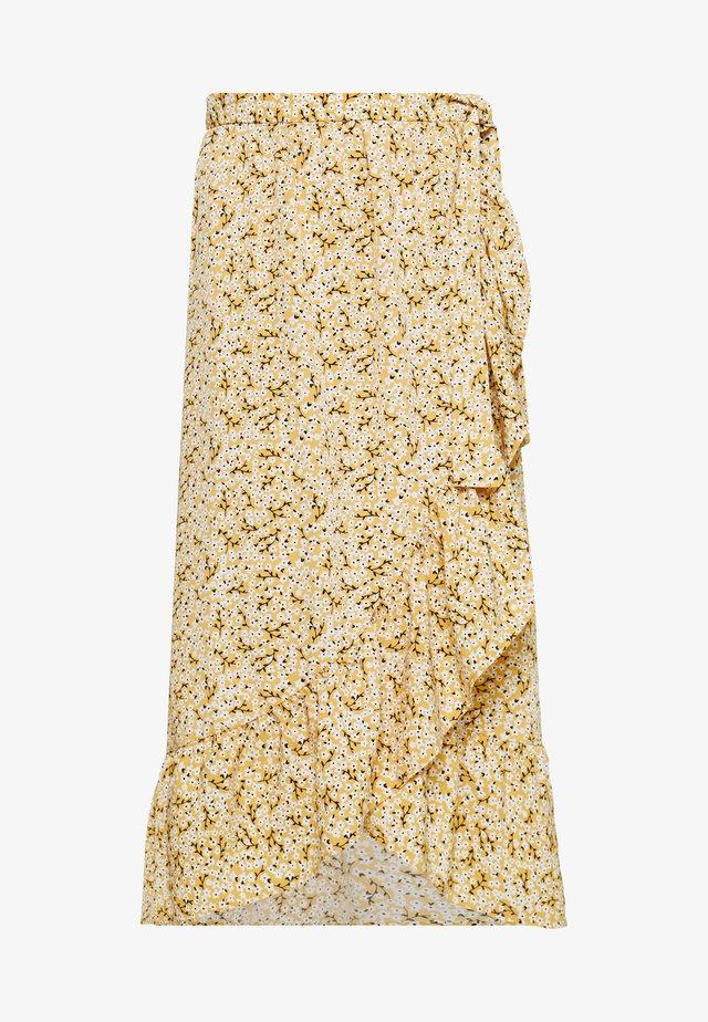 MARY LOU SKIRT - Áčková sukně - yellow medium