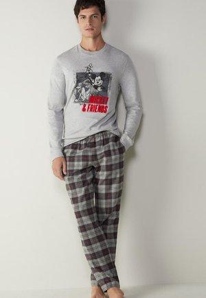 Pyjama set - grigio melange