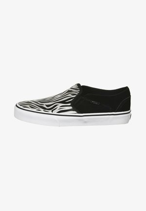 ASHER - Trainers - black, white