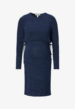DRESS NURSING - Strikkjoler - night sky blue