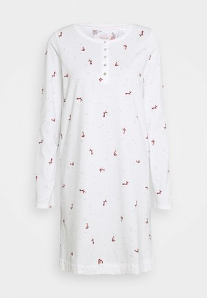 NIGHTDRESSES CHARACTER BUTTONS - Nightie - silk white