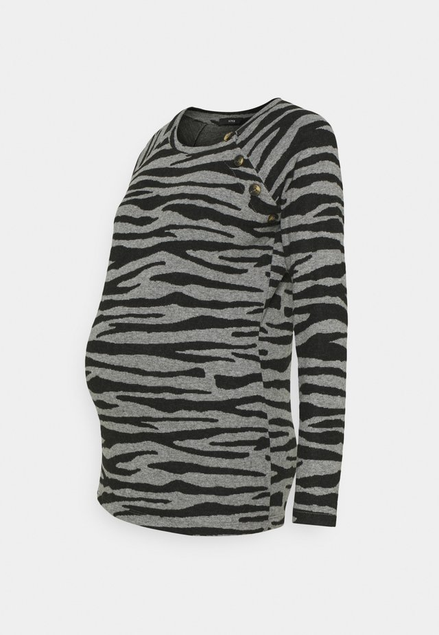 ZEBRA - Strikkegenser - black