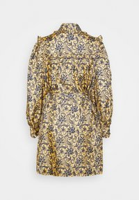 sandro - Shirt dress - doré/bleu - 7