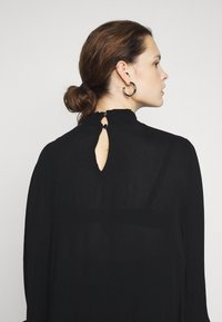 Kaffe Curve - KCTRUDI BLOUSE - Long sleeved top - black deep - 3