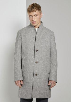 Classic coat - grey herringbone