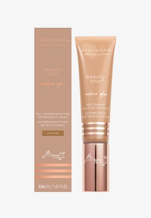 BEAUTY BLUR SUNLESS GLOW 30ML - Self tan - latte dark