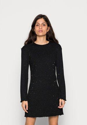 LAYLA SHORT DRESS - Jumper dress - black