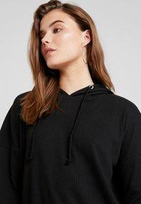 Missguided - HOODIE DRESS - Jersey dress - black - 3