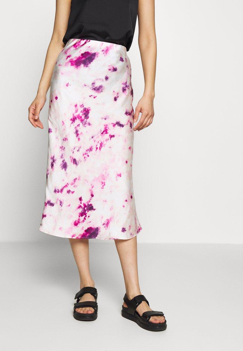 Bardot - KENDAL BIAS SKIRT - A-line skirt - purple