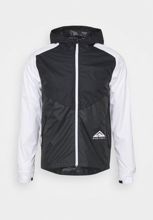 TRAIL WINDRUNNER  - Chaqueta de deporte - black/smoke grey/white