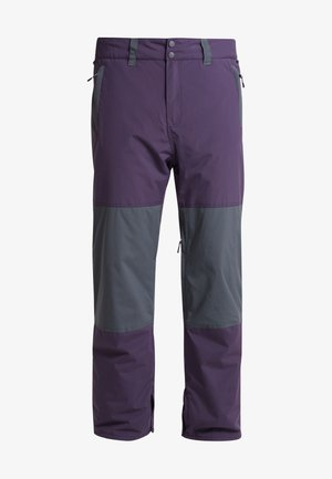 TUCK KNEE - Pantaloni da neve - dark purple