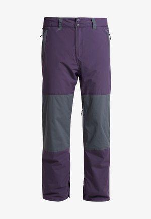 TUCK KNEE - Snow pants - dark purple
