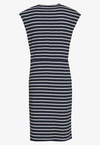 Betty & Co - Jersey dress - blue/cream - 1