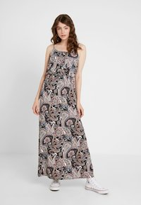 ONLY - ONLNOVA STRAP DRESS - Maxi dress - black - 0
