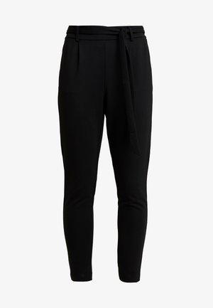 POPYE PANTS - Kalhoty - black