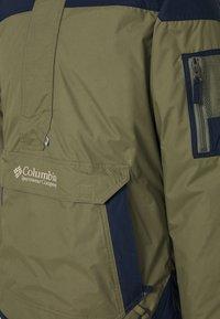 Columbia - CHALLENGER - Windbreaker - stone green/collegiate navy - 6