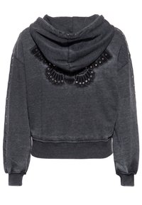 Queen Kerosin - Zip-up sweatshirt - schwarz - 1