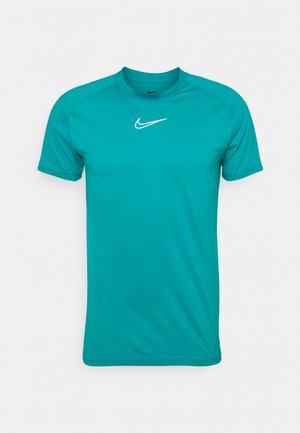 DRY - T-shirt con stampa - aquamarine/white