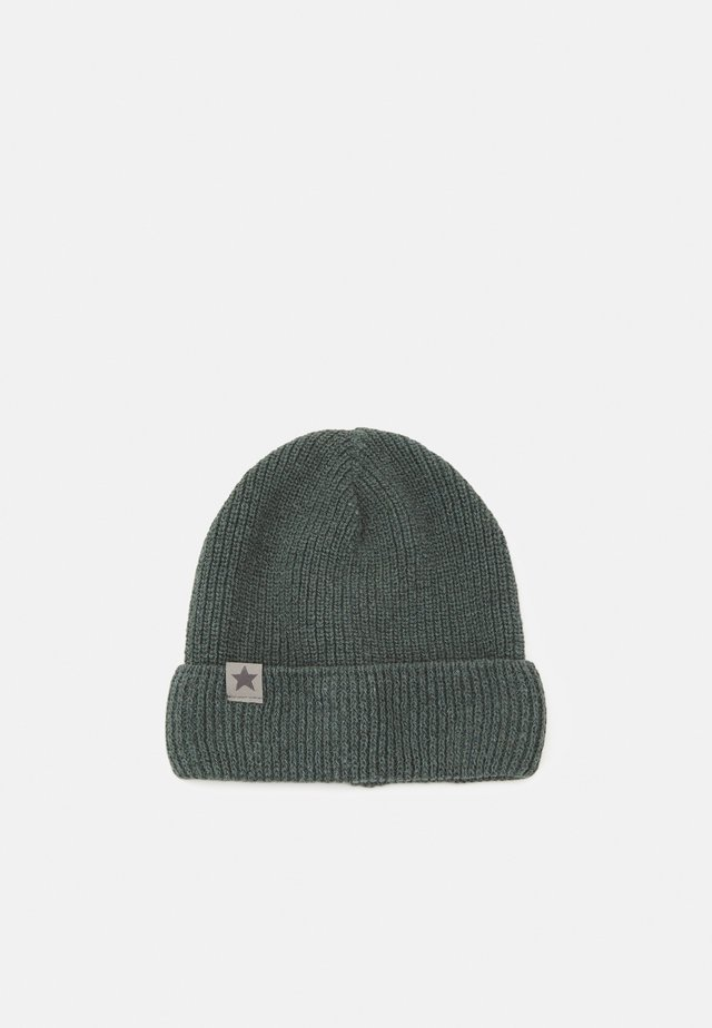 BEANIE RECYCLED PATENT FOLD UP HUT - Čepice - grey