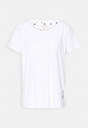 NEVA - T-shirt print - white