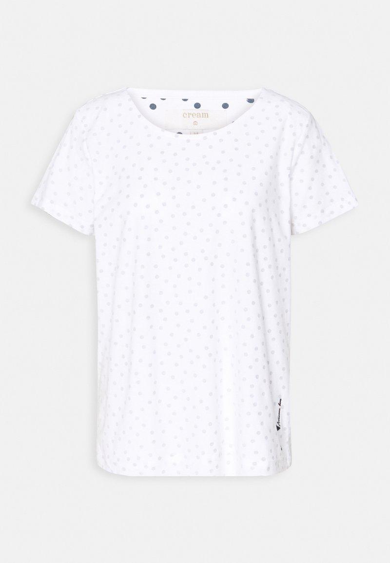 Cream - NEVA - Print T-shirt - white