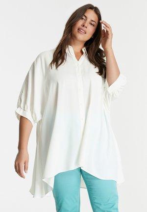 Button-down blouse - offwhite
