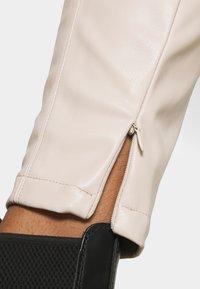 Noisy May - NMDUST LEGGING - Leggings - taupe gray - 3