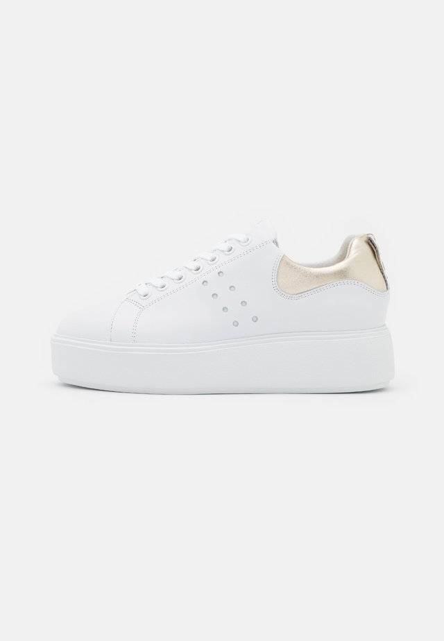 ELISE MARLOW - Sneakers - white/gold