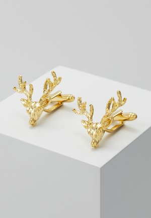 FRANCIS - Cufflinks - shiny gold-coloured