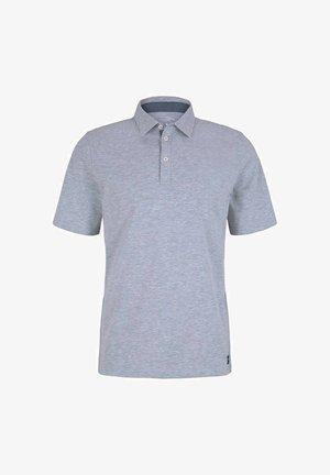 Polo shirt - light stone grey melange
