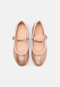Friboo - Ankle strap ballet pumps - rose gold - 3