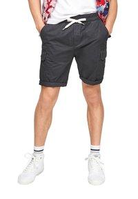 Q/S designed by - REGULAR FIT - Shorts - dark grey - 6