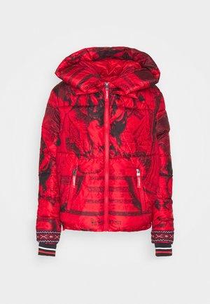 PADDED BALTO - Winter jacket - rojo abril