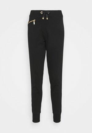 BURNOUT TROUSER - Teplákové kalhoty - black