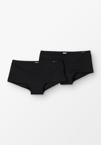 ESSENTIALS GIRLS PANT 2 PACK - Onderbroeken - black