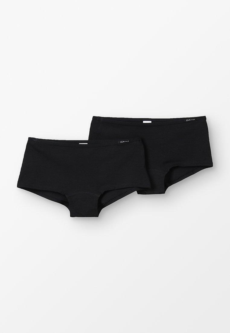 Skiny - ESSENTIALS GIRLS PANT 2 PACK - Boxerky - black