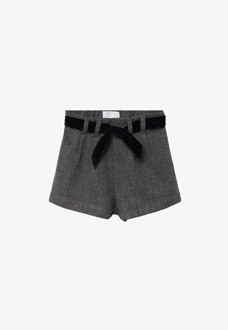 Mango - NIZA - Shorts - donkergrijs