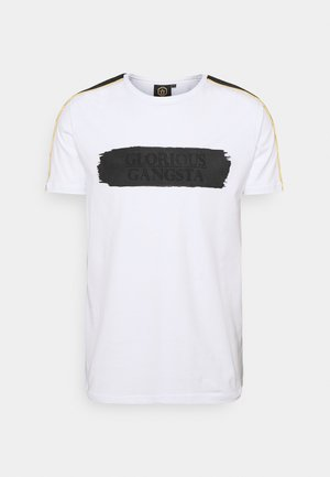 EMILIO TEE - T-shirt con stampa - optic white
